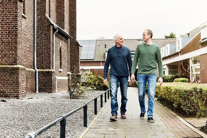 Theo en Pim van Haren